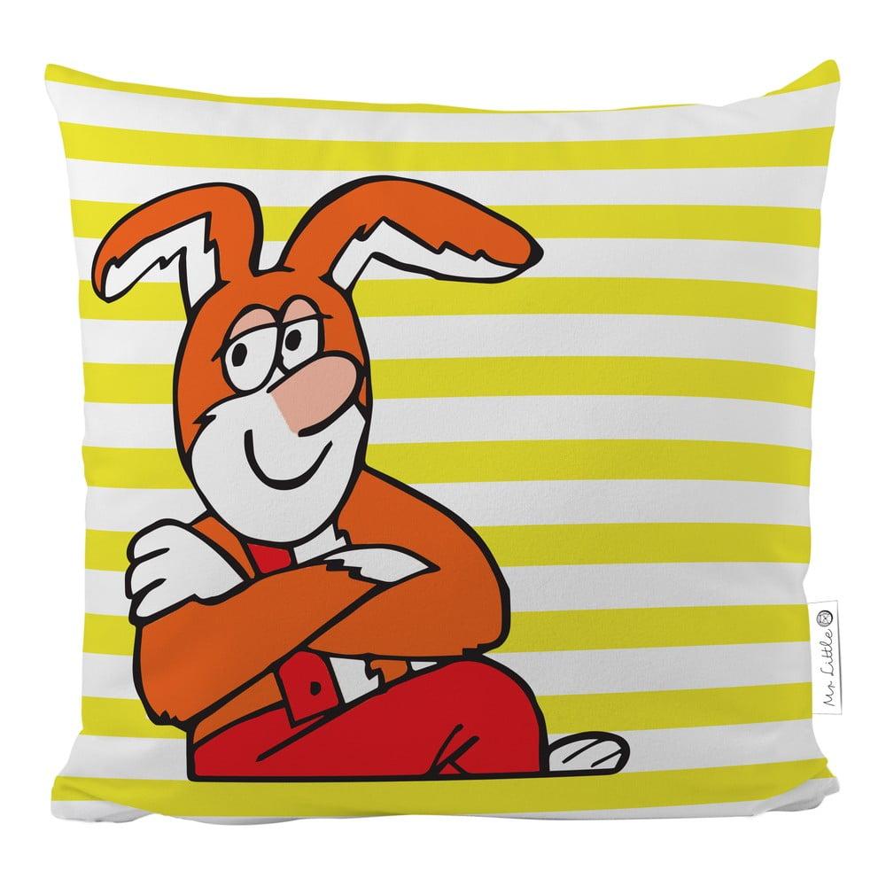 Povlak na polštář z bavlněného saténu Čtyřlístek by Mr. Little Fox Bunny, 50x50cm