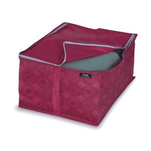 Fialový úložný box na bundy Bonita Ella
