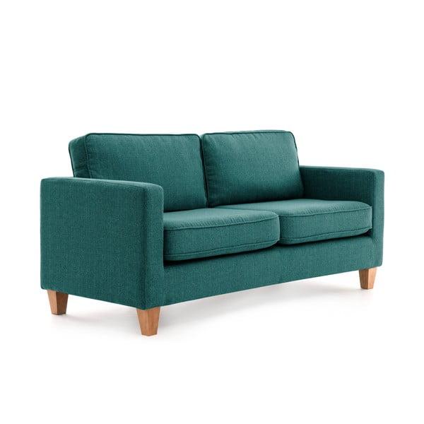 Canapea cu 3 locuri Vivonia Sorio, turcoaz