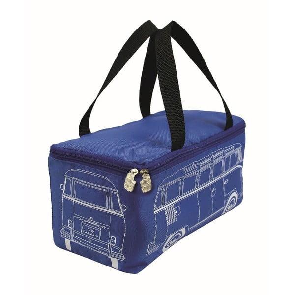 Pikniková taška s dekou VW Camper, modrá