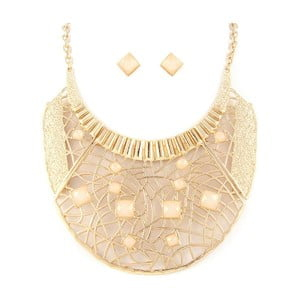 Set náhrdelník a náušnice Jessica Ivory