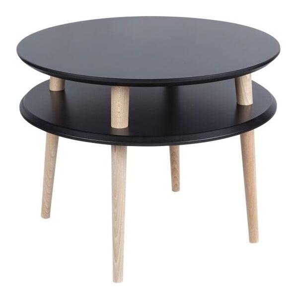 Konferenční stolek UFO 45x57 cm, černý