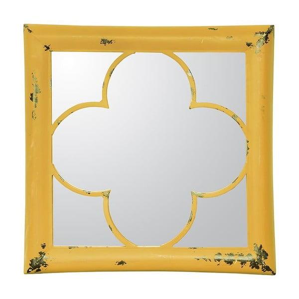 Nástěnné zrcadlo In Yellow, 40 cm