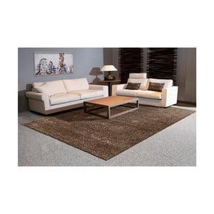 Hnědošedý koberec Arte Espina Grace Shaggy, 60x110cm