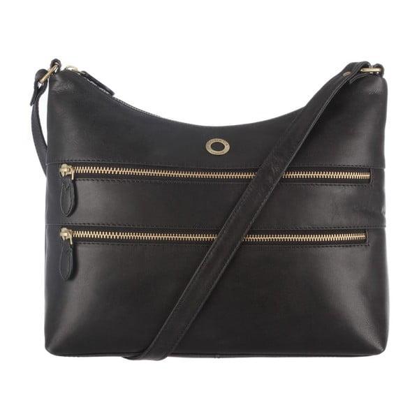 Kožená taška Ginny Raven