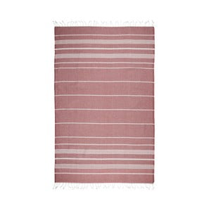 Prosop baie hammam Kate Louise Classic, 180 x 100 cm, roșu închis