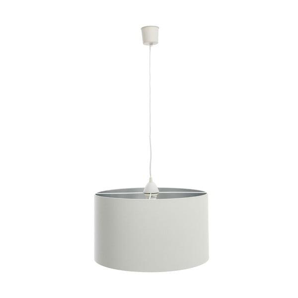 Závěsné světlo Light Gray Silver