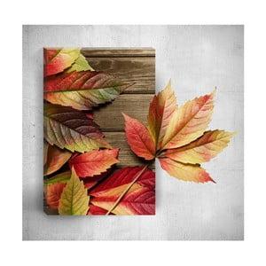 Nástěnný 3D obraz Mosticx Autumn Detail, 40 x 60 cm