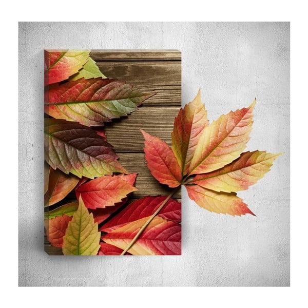 Tablou de perete 3D Mosticx Autumn Detail, 40 x 60 cm