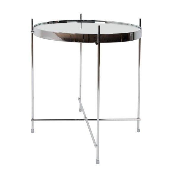 Příruční stolek ve stříbrné barvě Zuiver Cupid