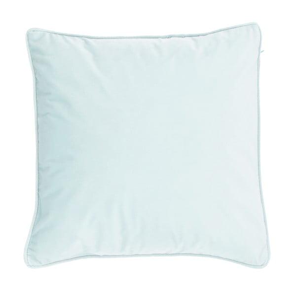 Světle modrý polštář Tiseco Home Studio Velvety, 45x45cm