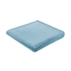 Pléd Biederlack Uni Blau, 200x150cm