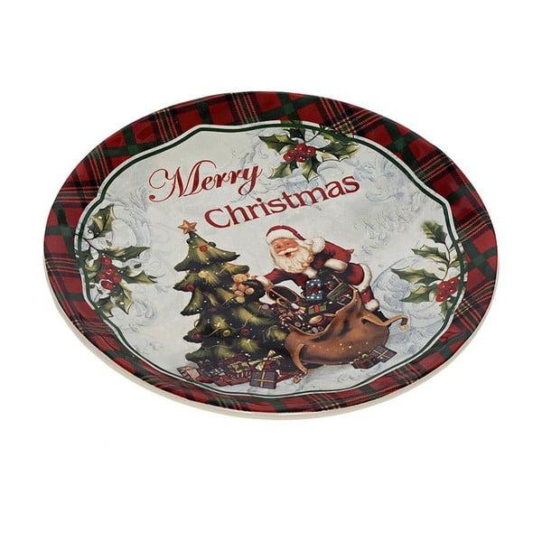 Keramický talíř Santa, 20 cm