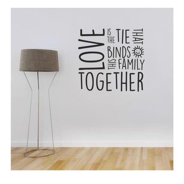 Samolepka Family Love, 90x60 cm