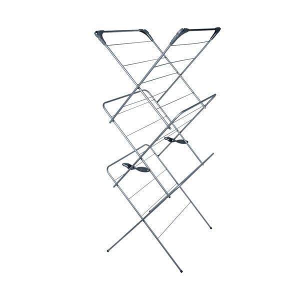 Uscător triplu pentru rufe Addis 2 Tier Concertina Graphite Metallic