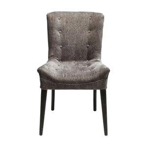 Tmavě šedá židle Kare Design Stay