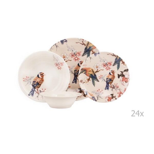 24-dielna sada porcelánového riadu Kutahya Pateo