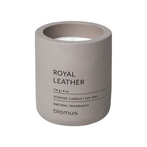 Sviečka zo sójového vosku s vôňou kože Blomus Fraga