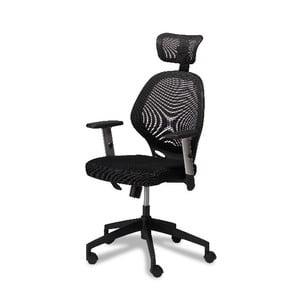 Černá kancelářská židle Furnhouse Maze
