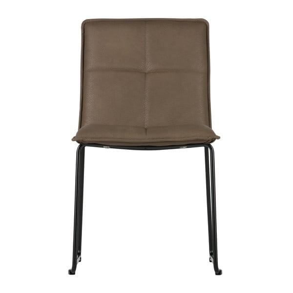 Sada 2 hnědých židlí De Eekhoorn Evan