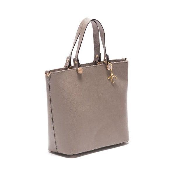 Kožená kabelka Renata Corsi 432, krémová