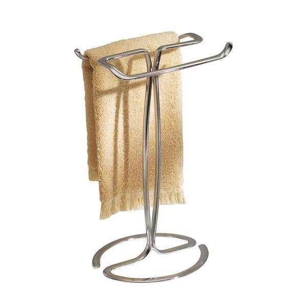 Stalowy wieszak na ręczniki na umywalkę InterDesign