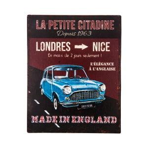 Placă metalică Antic Line Mae in England, 22 x 28 cm