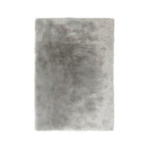 Šedý koberec Flair Rugs Sheepskin, 80 x 150 cm