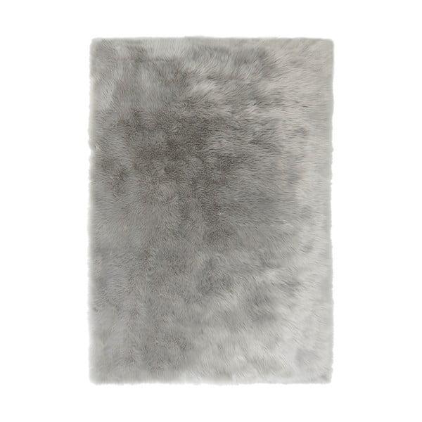 Šedý koberec Flair Rugs Sheepskin, 120 x 170 cm