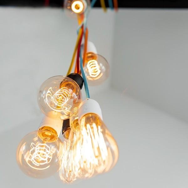 Tři závěsné kabely Uno, spojené, oranžová/černá