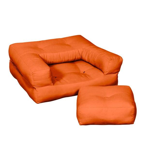 Dětské křesílko Karup Baby Cube Orange