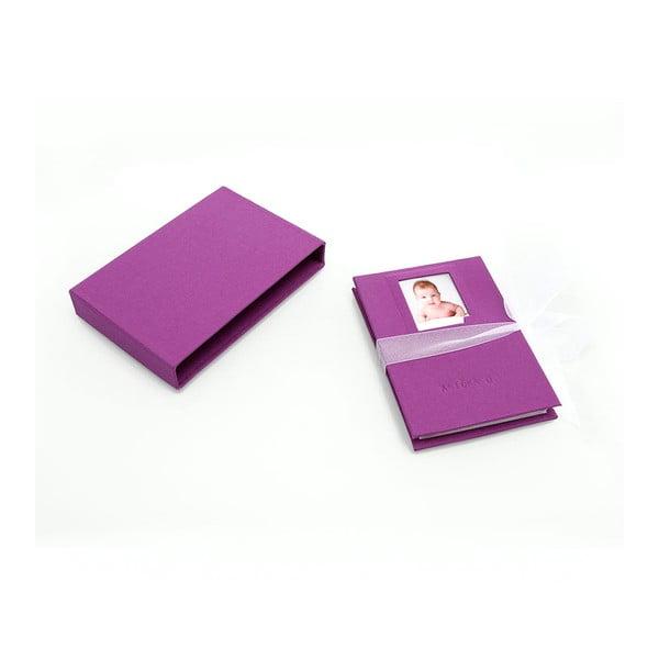Leporelo pro 10 fotografií, fialové