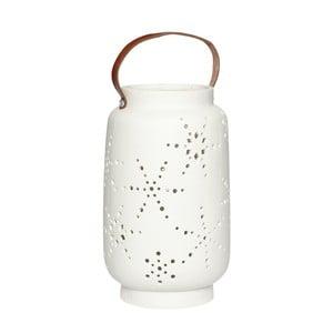 Bílá porcelánová lucerna Hübsch Deb