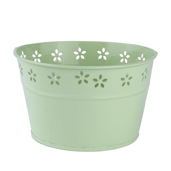 Set 3 květináčů, zelené