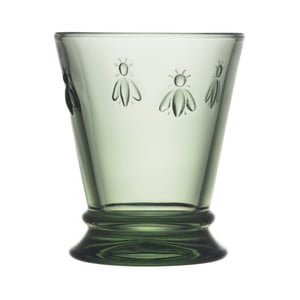 Zelená sklenice La Rochère Abeille, 260ml