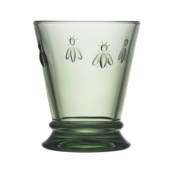 Zielona szklanka La Rochère Abeille, 185 ml