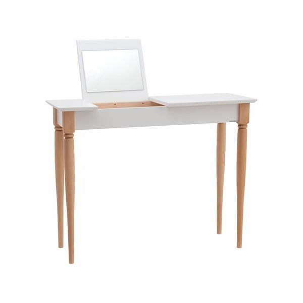 Mamo fehér fésülködőasztal, szélesség 105 cm - Ragaba