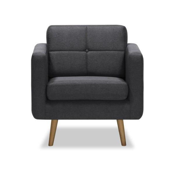 Magnus sötétszürke fotel - Vivonita