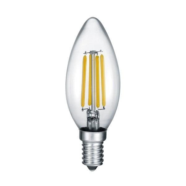 LED žárovka Leucht E14, 4,0 W