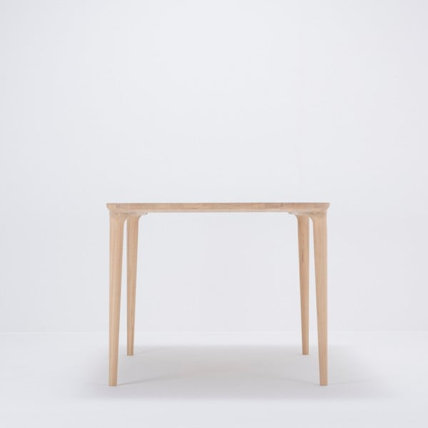 Jídelní stůl z masivního dubového dřeva Gazzda Fawn, 160x90cm