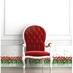 Autocolant Ambiance Tulips Fence