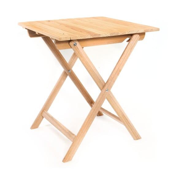 Skládací stůl Wood Table, 63x72 cm