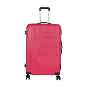 Růžový cestovní kufr LULU CASTAGNETTE Philip, 107l