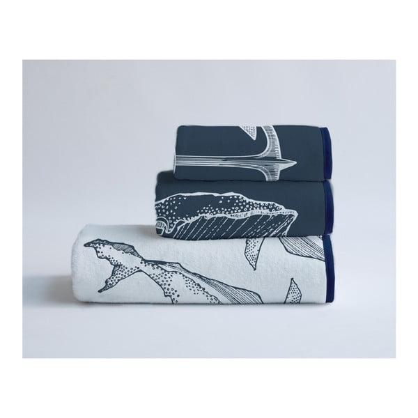 Sada 3 uterákov z bavlny a mikrovlákna Surdic Nautical