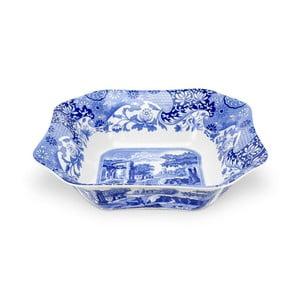 Bílomodrá porcelánová mísa na salát Spode Blue Italian