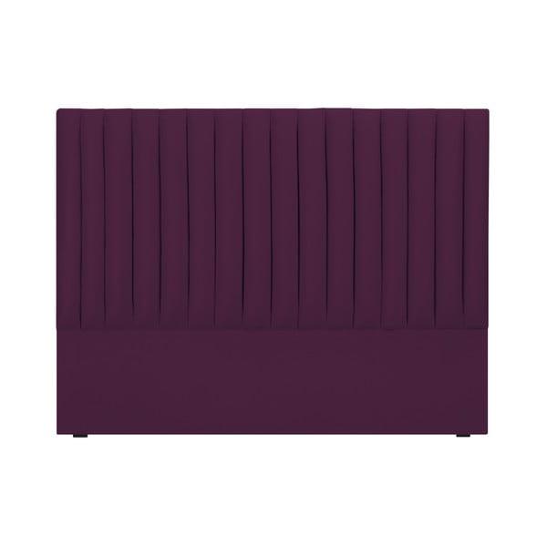 Fialové čelo postele Cosmopolitan design NJ, 200×120 cm