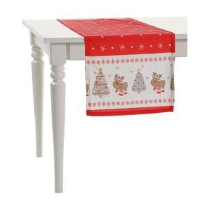 Vánoční běhoun na stůl Apolena Shine Christmas, 43x43cm