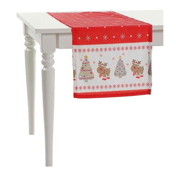 Vianočný behúň na stôl Apolena Shine Christmas, 140 x 40 cm