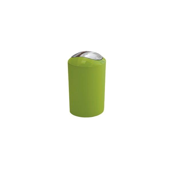 Odpadkový koš Glossy Green, 3 l