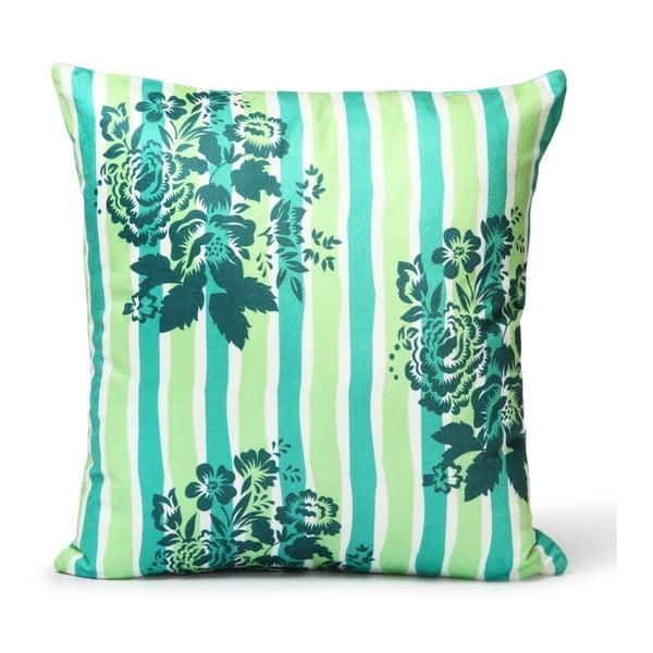 Povlak na polštář Tamara Green Flowers